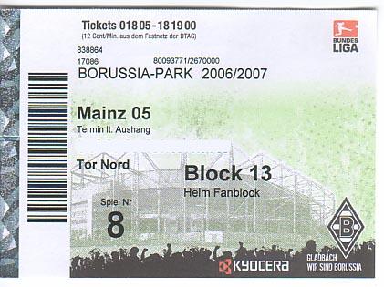 Borussia Mönchengladbach Vip Tickets